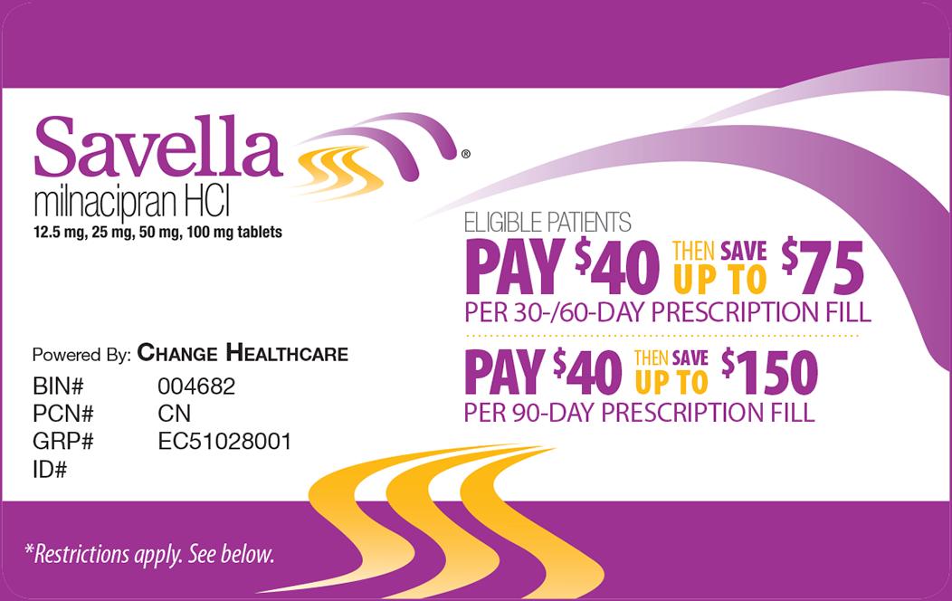 Savings Card Activation - Savella Registration